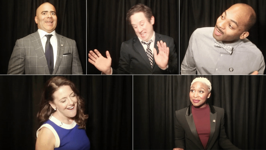 Tony Nominees Bust Out Their Signature Dance Move For the...