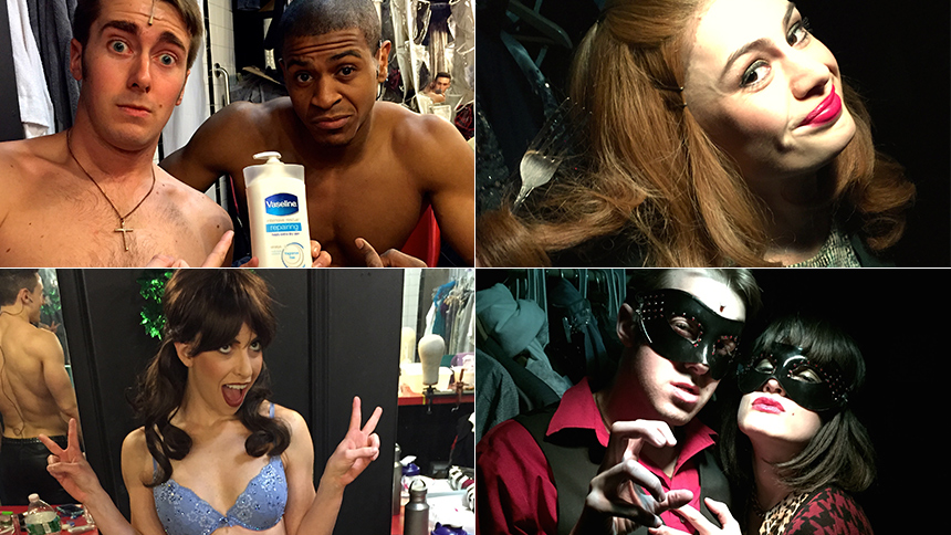 10 Things You'd Only Find Backstage at 50 Shades! The Mus...