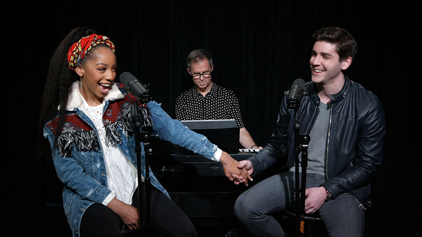 Broadway Unplugged: A Bronx Tale Stars Christiani Pitts &...