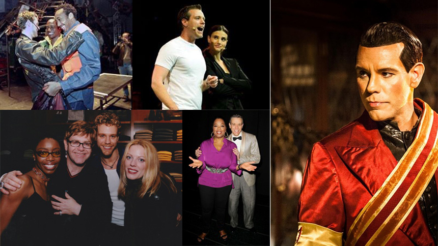 Adam Pascal's Broadway Scrapbook: Rent, Aida, Chess, Memp...