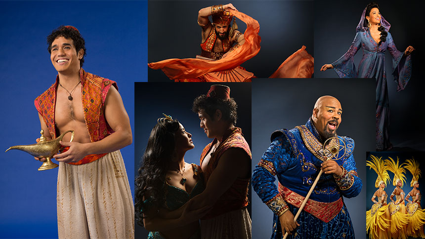 The Stars & Creators of Broadway's Aladdin Share Their Ul...