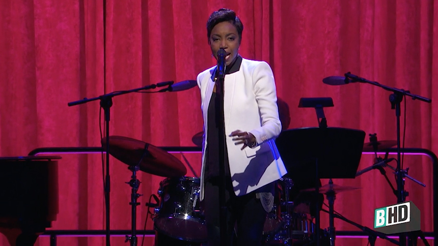 "Exclusive! Get a Glimpse of Heather Headley Performing ""W..."