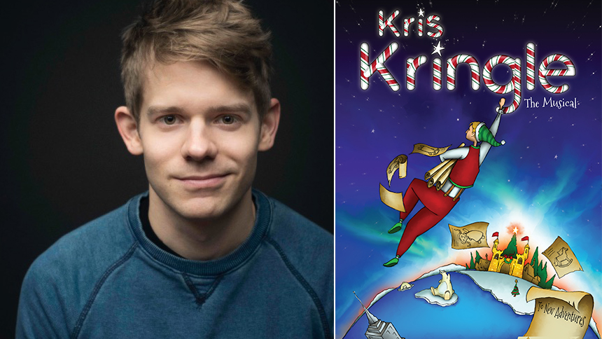 Five Burning Questions with Kris Kringle The Musical Star...