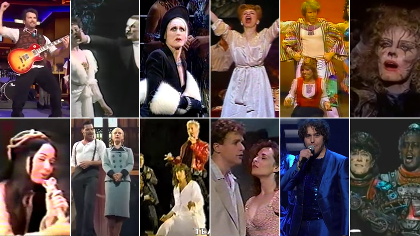 YouTube Spiral: All the Andrew Lloyd Webber Musicals' Ton...