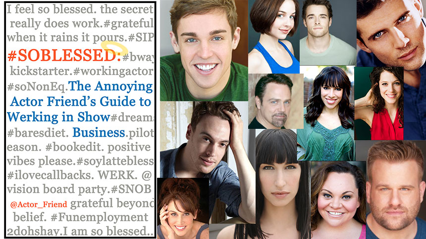 10 #NOTBLESSED Things That Will Happen to an Actor & The ...