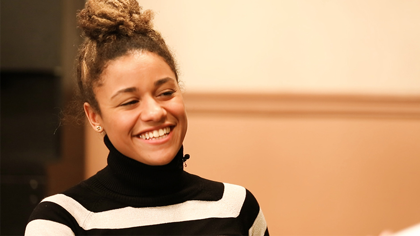20 Questions in 2 Minutes with A Bronx Tale Star Ariana D...