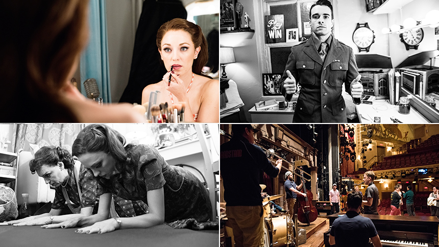 Exclusive Photos! Go Backstage at Broadway's Bandstand wi...