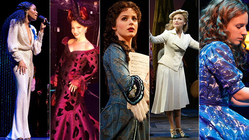 In Honor of New York Fashion Week: Broadway's 10 Best Dre...