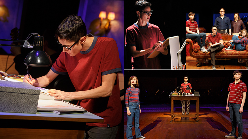 Five Burning Questions with Fun Home's Tony-Nominated Lea...