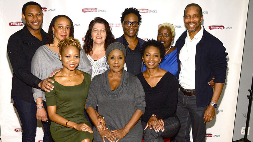 Billy Porter and the Stars of His New Play While I Yet Li...