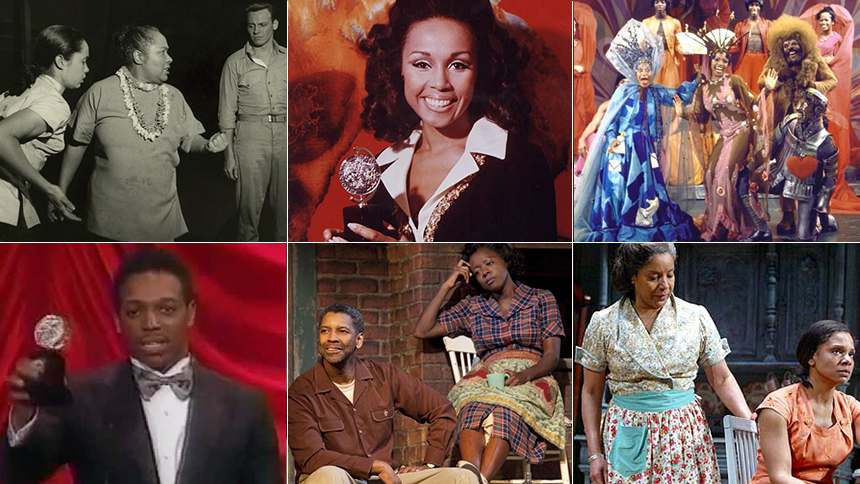 Spotlight On The 57 Tony Winning African American Actors