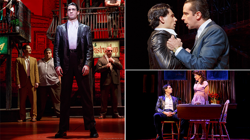 Five Burning Questions with A Bronx Tale Star Bobby Conte...