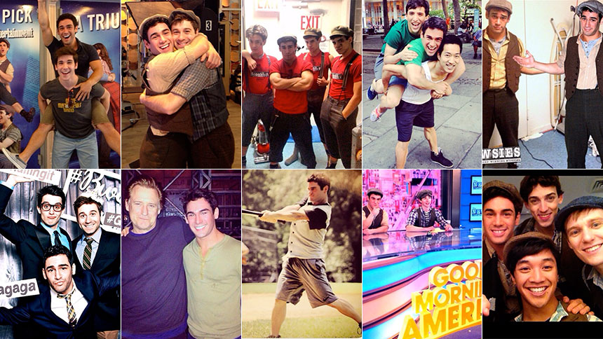 #NewsiesWeek: Tommy Bracco Looks Back on His 10 Favorite ...