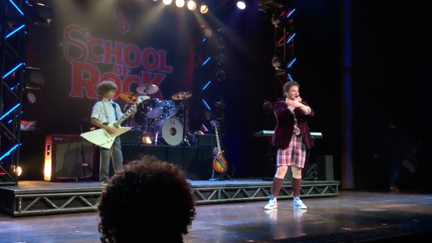 Hot Clip of the Day: School of Rock's Brandon Niederauer ...