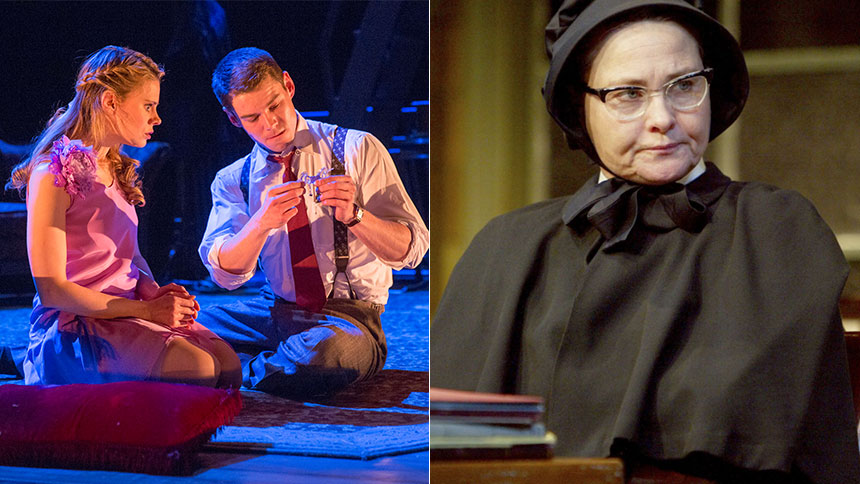 Brian J. Smith Relays How Cherry Jones Got Him Through a ...