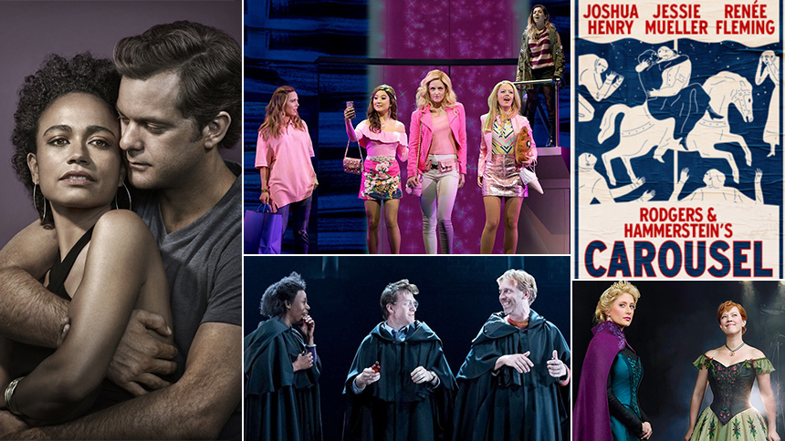 shows playing on broadway tonight
