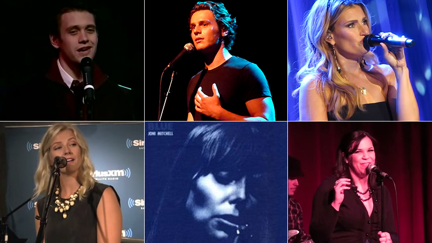 Broadway's Arden, Groff, Menzel & More Cover Joni Mitchel...