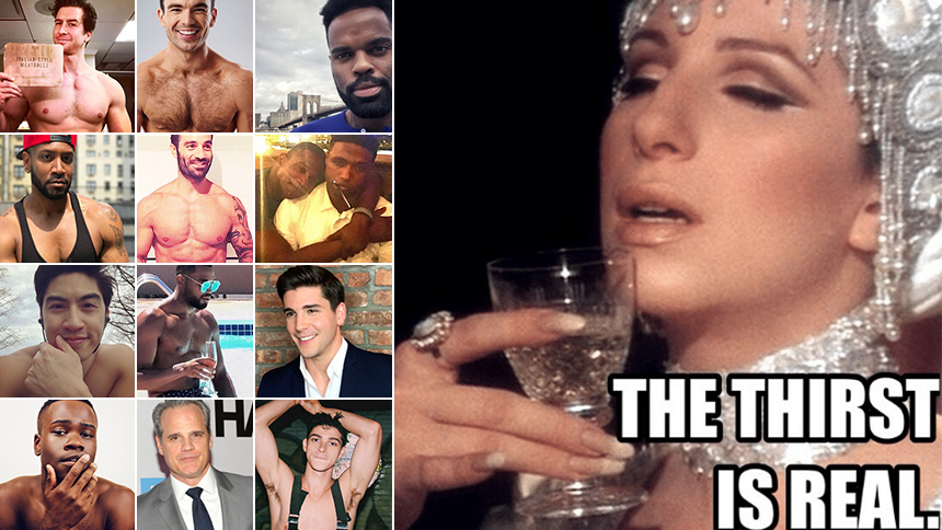 Thirst Trap: 40 of Broadway's Sexiest Men RN