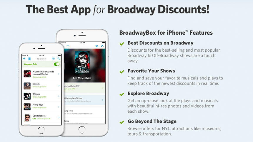 New Year, New App: BroadwayBox Shows 2015 Who's Boss