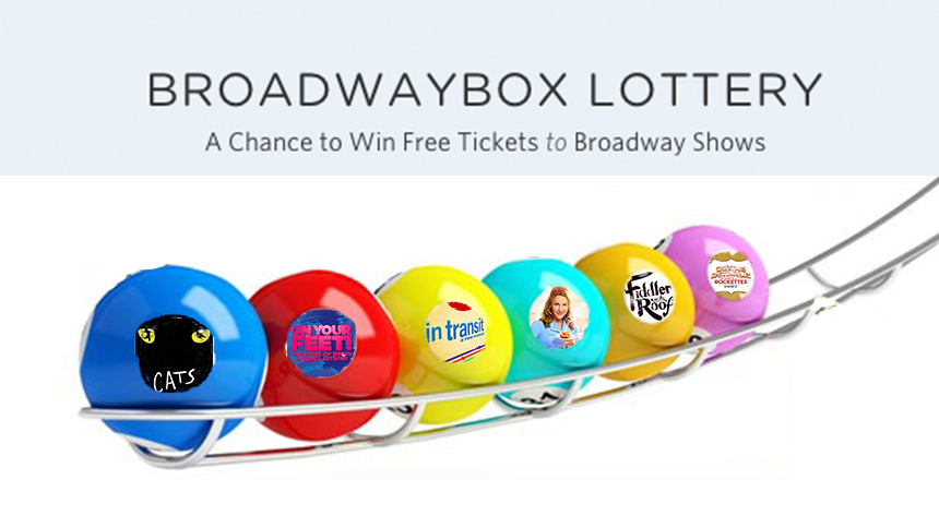 Your Daily Guide to the FREE BroadwayBox Lottery