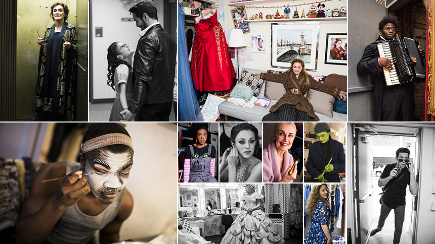 25 Incredible Backstage Photos from the Year on Broadway