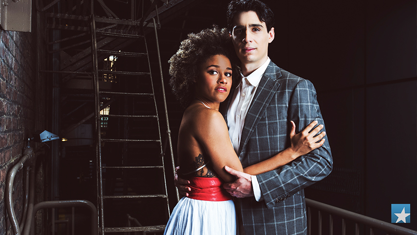 A Bronx Tale Stars Ariana DeBose & Bobby Conte Thornton S...