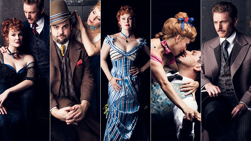 Kate Baldwin and the Cast of Can-Can Bring Us Inside the ...