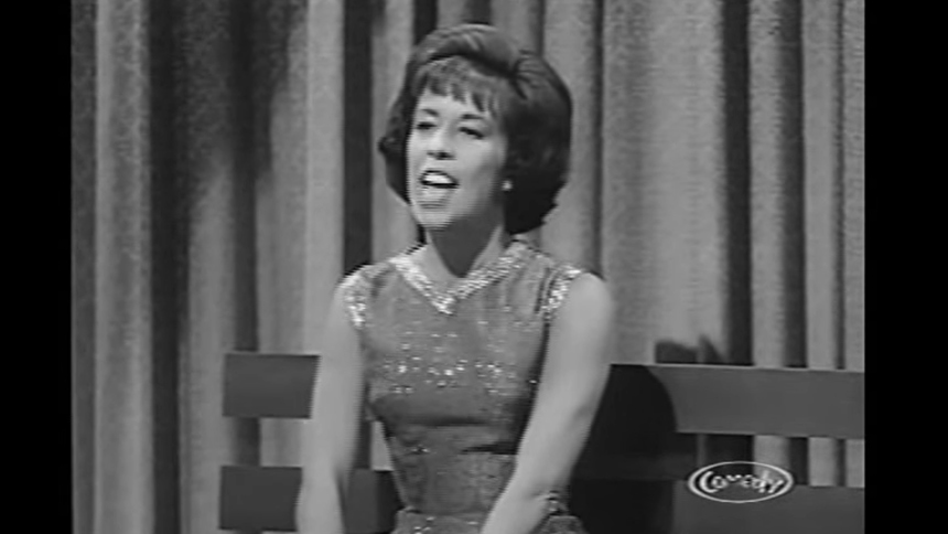 "Hot Clip of the Day: Young Carol Burnett Performs ""The Tr..."