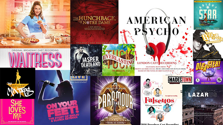 Friday Playlist: 2016's Best Broadway Songs From Each Cas...