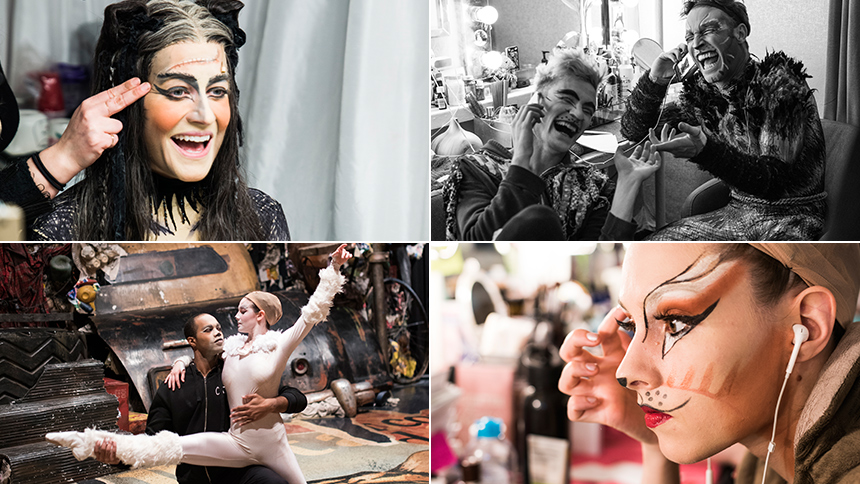 Exclusive Photos! Go Backstage at Broadway's Cats as the ...