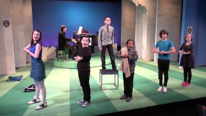 Hot Clip of the Day: First Look at York Theatre's Young Y...
