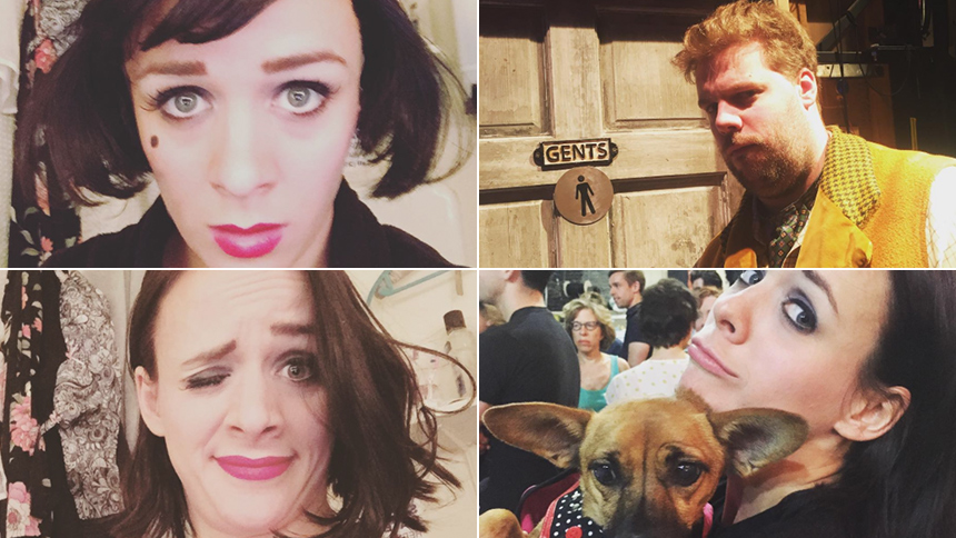 Charlie Russell Brings Instagram Along for a Two-Show Day...