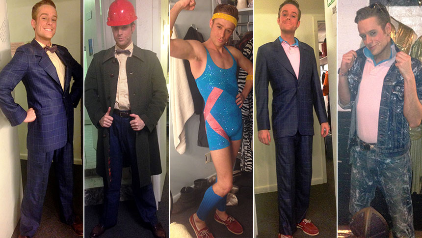 From Dapper Suits to Bedazzled Unitards: Rock Of Ages' Co...