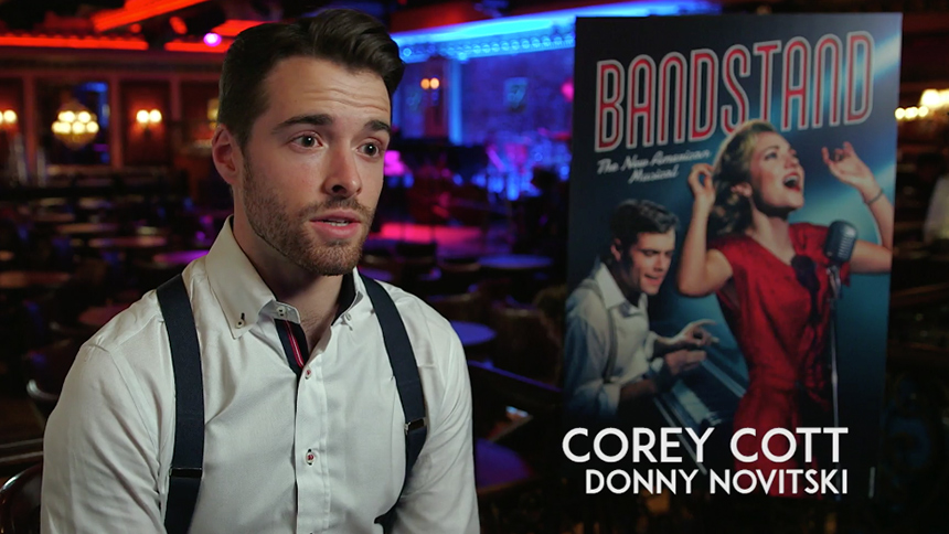 Video Exclusive! Corey Cott, Laura Osnes, & Beth Leavel T...