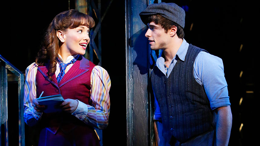 Five Burning Questions with Newsies' Leading Man Corey Cott