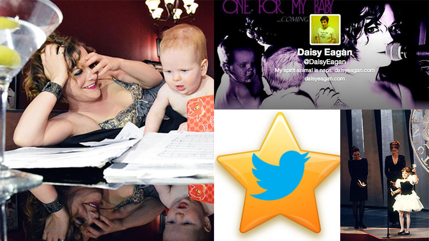 Daisy Eagan's Top Five Tips to Becoming a Twitter Superstar
