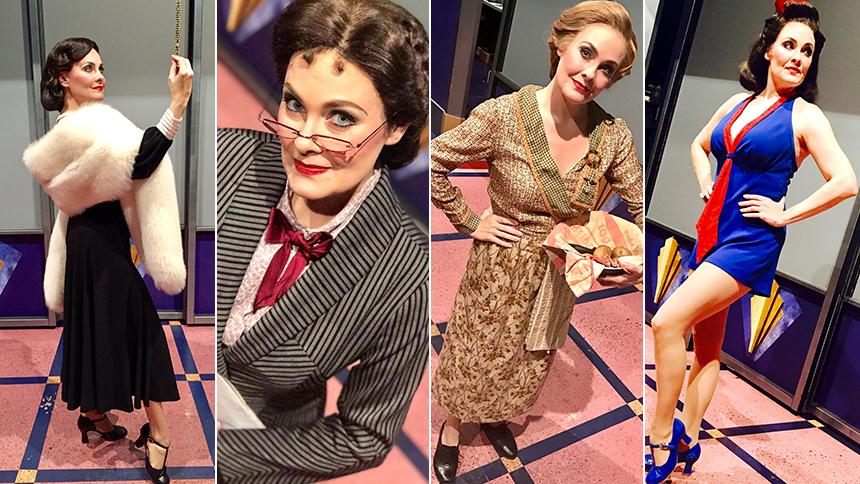 Cagney Scene-Stealer Danette Holden Introduces Her Many C...