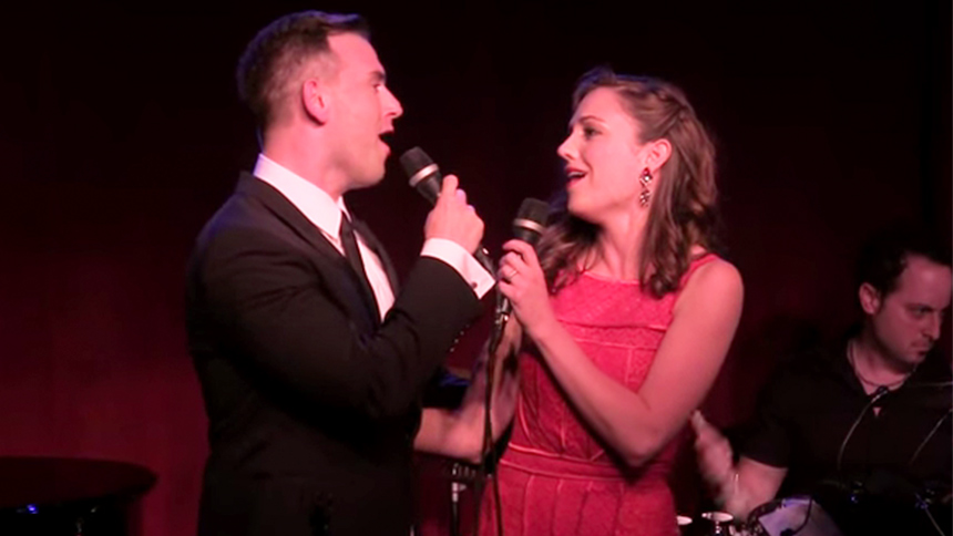 Hot Clip of the Day: Daniel Reichard & Laura Osnes Take U...