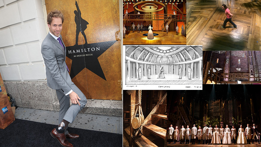 Tony Nominee David Korins Reveals 10 Secrets of the Hamil...
