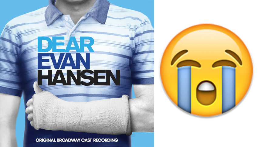 Reacting in Animated GIF to the New Dear Evan Hansen Cast...