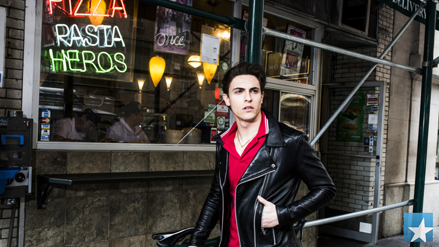 Anastasia Star Derek Klena Serves Up Stayin' Alive  Satur...