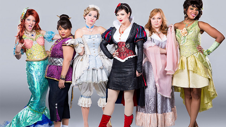 The Disenchanted! Fairytale Princesses Imagine Their Real...