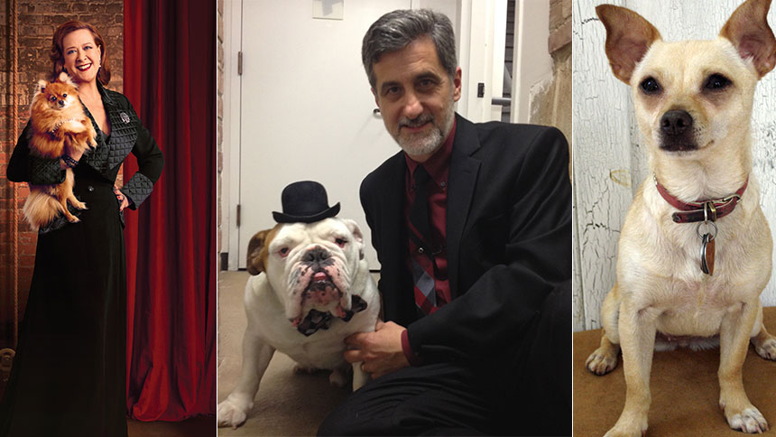 Doggy Hour! Broadway Pups Reveal What Celebrity Dog They ...