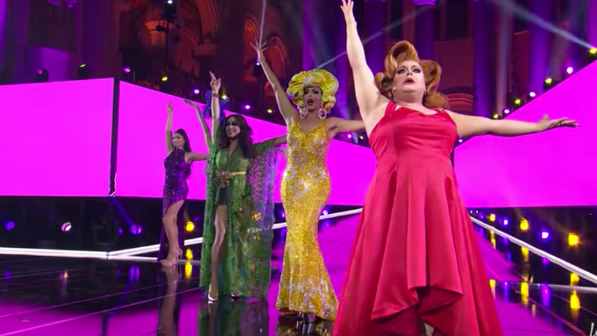 Watch These RuPaul's Drag Race Queens Take On 10 Broadway...