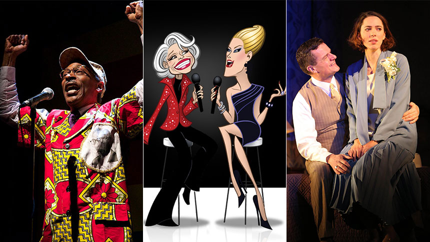 Eye-Opening Political Theater, Carol Channing's NYC Retu...