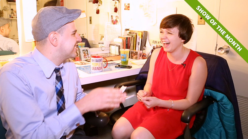 20 Questions in 2 Minutes with Fun Home's Tony Nominated ...