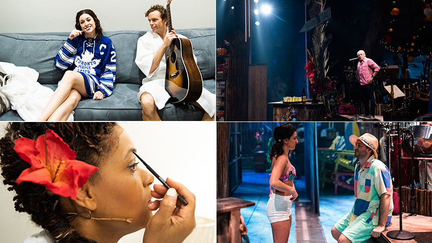 Exclusive Photos! Go Backstage at Broadway's Escape to Ma...