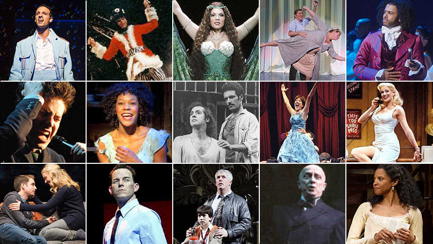 14 Times the Best Musical & Featured Actor Tony Award Win...