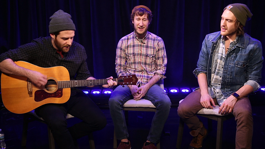 Broadway Unplugged: Ben Rappaport, Matt Moisey, & Nick Re...