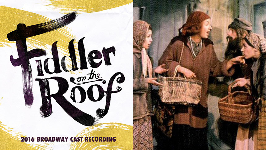Tell Your Friends, The New Fiddler on the Roof Cast Recor...